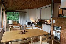 日本の近代建築家のインテリア