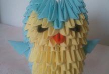 origami -kirigami