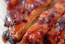 poulet laqués