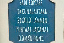 Suomeksi/in finnish