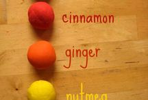 Play dough ideas