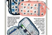 diabetes/contact lens bag