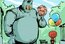 comics / anime, comics, comic book films / by Paikea S