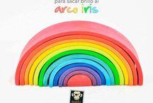 ArcoIris Waldorf. Reto #30Días30Formas
