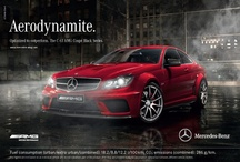 AMG Print Ads / AMG advertisements - spreading the luxury.