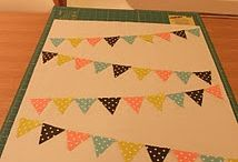 Bunting quilt / by Rebecca Smith