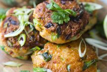 meat & fish cakes