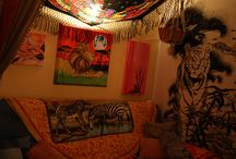 hippy bedroom <3