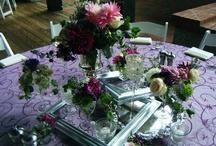 Our Wedding @Biltmore Estate / #purples # pinks #creams vintage... Frames... Mercury glass Sophisticated Elegant and Vintage.... Fabulous wedding we designed at Lions Crest on Biltmore Estate.