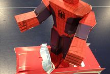 Marvel / Marvel Papercraft Products