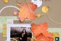 Scrapbooking fall / halloween