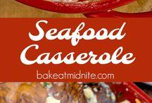 Seafood casserol
