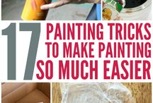Paint tricks and tips