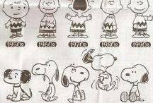 Desenhos Snoopy e sua turma