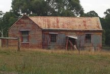 Corrugated iron houses