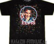 Футболки Elvis Presley / Футболки короля рок-н-ролла  Elvis Presley