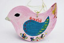 Kashubian Handmade animals / Kaszubskie Ptaszki