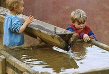 Water and sand play ideas