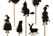 Shadow puppets / Kids' art projects