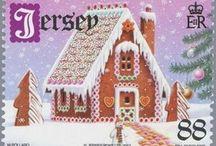 Muita joulupostimerkkijä