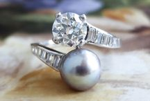 Pearl Finds / One of a kind estate, vintage & antique pearl jewelry from Jewelry Finds®!!!
