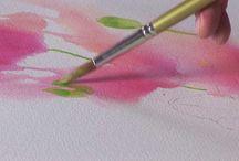 akvarell / måleri