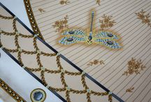 Faberge dragonfly scarf