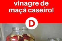 Vinagre Maçã - Receita