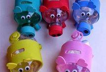 zabawki ze śmieci
