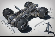 Futuristik Kara Araçları