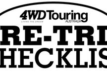 4wd packing lists
