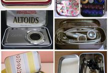 Altoid Tins Repurposed / by Marilyn Odle
