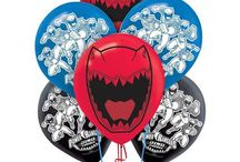 Power Rangers Party Ideas