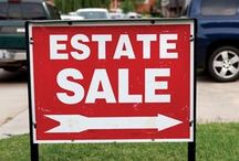 Estate sale liquidation process / An estate liquidation is similar to an estate sale in that the main concern or goal is to liquidate the estate (home, garage, sheds and yard) with an estate sale organization. @yellowbirdestatesales