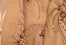 beaded embroidery: clothing