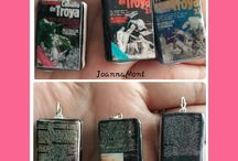 Bookcharms jewerly /  #minibooks #minilibros #charms #bookcharms
