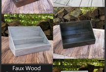 Wood Product Displays