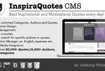 InspiraQuotes CMS – Inspirational Quotes Everyday