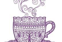 designs for mug rugs