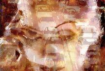 Greta Garbo Pop Art Canvas