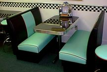 diner style seating