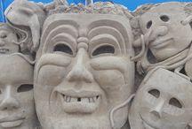 Sandskulpturen Festival / Festival in Usedom