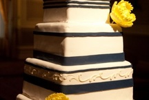 Navy Blue and Yellow Palette