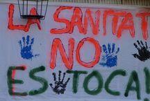 La Sanitat no es toca 2011/2012/2013 / Fotografías de los pasos de la AVVCentre en la lucha vecinal contra el cierre de las urgencias nocturnas en nuestra población.