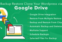 Backup Restore Clone Your Wordpress Via Google Drive / Backup of #WordPress site via #Google Drive plugin is all-in-one solution for WordPress #backup, restoration and cloning. This plugin helps you to manage the above processes in a secure, easy, and reliable way on a scheduled or on-demand basis.