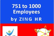 Zing HRMS - Power 1000 Employees / Zing HR Power for up to 1000 Employees offers: Employee Self Service Portal Employee Dossier Leave Management Claims Management Policies & Communication Board #HR #Zing #HRMS