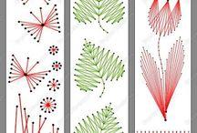 Stitching card: patterns