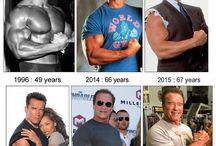 Movie stars I like / Arnold Schwarzenegger, Sylvester Stallone, All Pacino, Bruce Willis, Mark Whallberg, Ed Harris, Michael Fassbender, Rober Downey jr., Robert de Nero, Ben Affleck, Tom Hardy, Matt Damon, Hugh Jackman, Jason Stathem, Dolph Lundgren, Cristian Bale