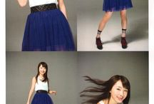 Morning Musume / Idol group from Japan ... favourite member is Ishida Ayumi...