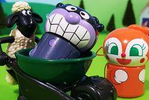 アンパンマン アニメ❤おもちゃ ひつじのショーンとバイキンマンたち Anpanman toys